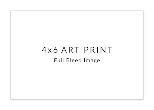 DIY 4 x 6 Art Print Horizontal