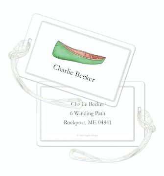Canoe Club ID Tag