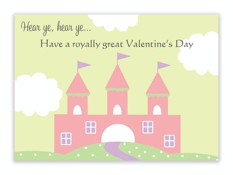 Princess Valentine Cards