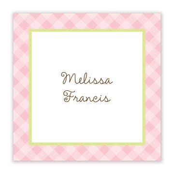 Cherry On Top Flat Calling Card