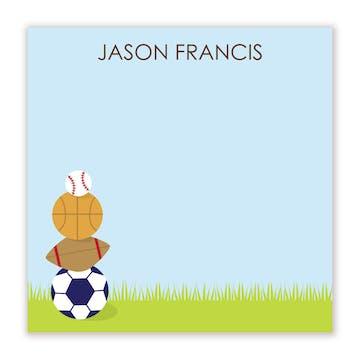 Havin A Ball Flat Calling Card