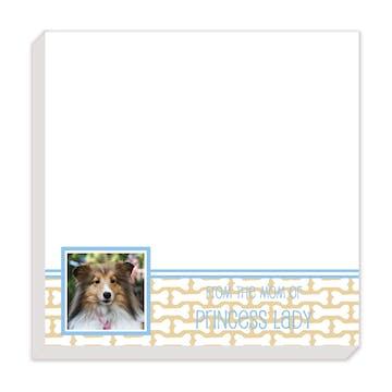 Dog Bone Photo Notepad