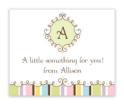 Whoopsy Daisy Calling Card