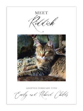 Meet the Pet Photo Announcement
