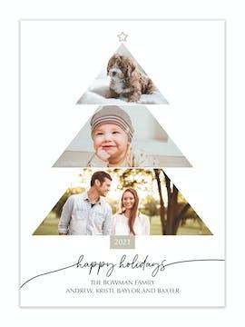 Photo Tree Holiday Photo Card