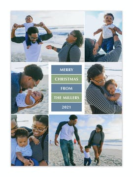 Holiday Greetings Holiday Photo Card