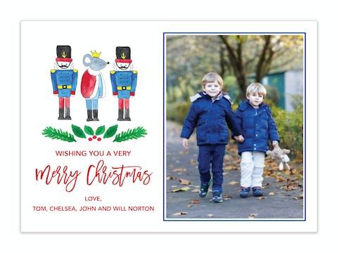 Nutcracker Holiday Photo Card