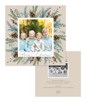 Winter Grove Holiday Photo Card