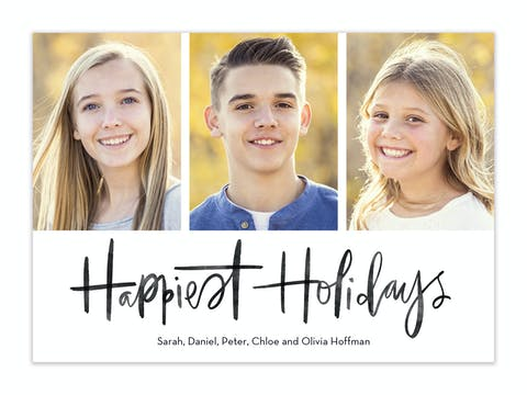 A Simple Wish Holiday Photo Card