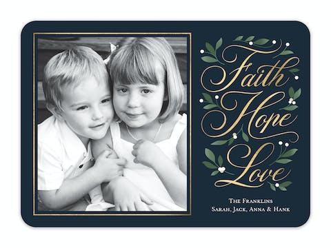 Faith Lives Holiday Photo Card