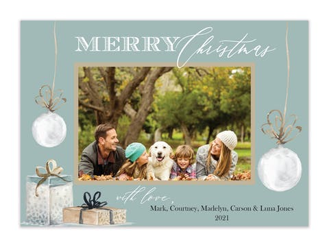 Magical Moment Holiday Photo Card