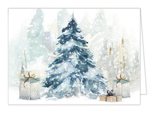 Astonishing Season Folded Holiday Greeting Card