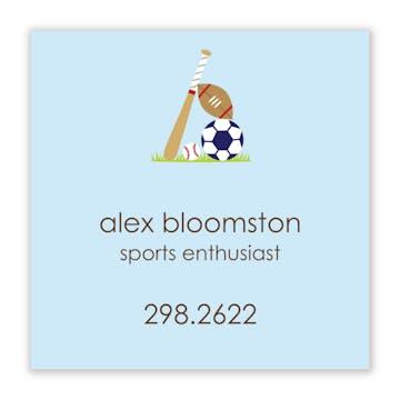 Little Sport Sticker