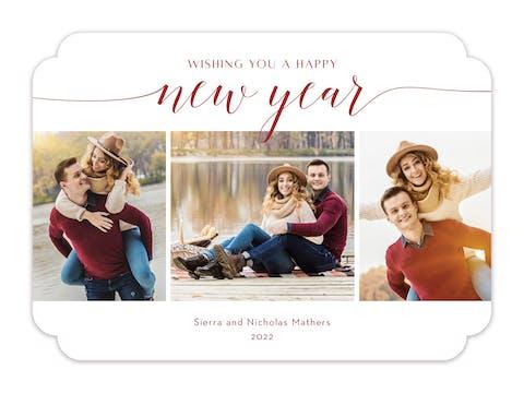 New Beginnings (Multi) Holiday Photo Card