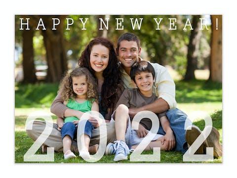Big Year Photo Card