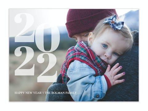 Dream Year Holiday Photo Card
