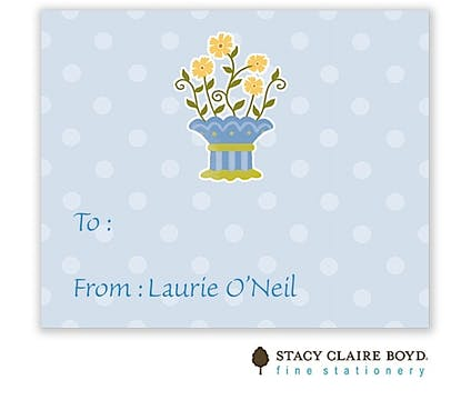 Plum Petticoat Calling Card