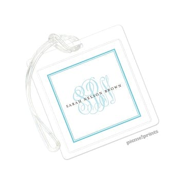 Tailored Monogram Pool ID Tag
