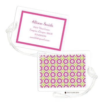 In Full Bloom - Watermelon Luggage Tag