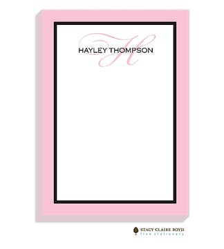 Simple Frame-Peony Notepad