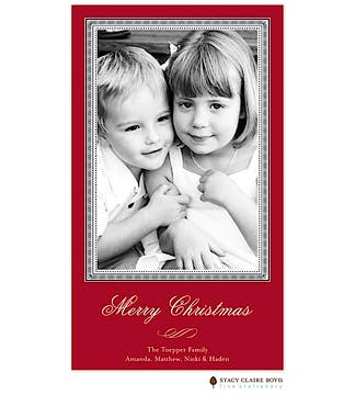 A Christmas Story Flat Photo Card