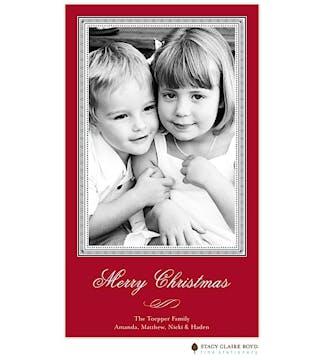 A Christmas Story Flat Photo Card