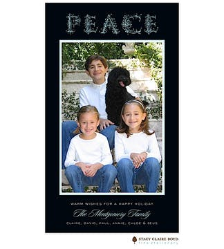 Peace Flat Photo Card