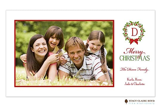 Noel-Aspen Flat Photo Card