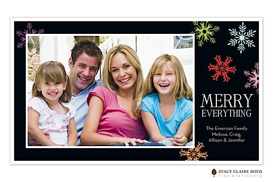 Merry Everything Flat Photo Card