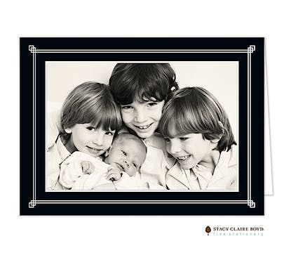 Simply Framed-Black Card
