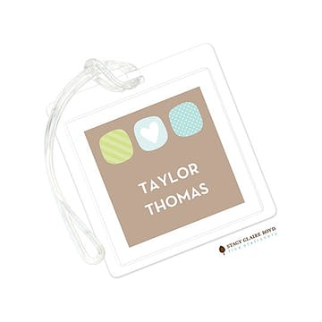 Urban Baby - Blue Luggage Tag