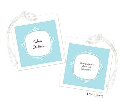 Le Cute - Blue Luggage Tag