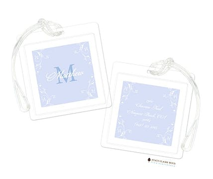 Lovely - Blue Luggage Tag
