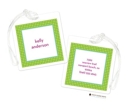 Topsy Turvy Luggage Tag