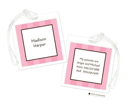 Popsicle Party Luggage Tag