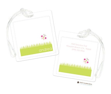 Party Petals Luggage Tag