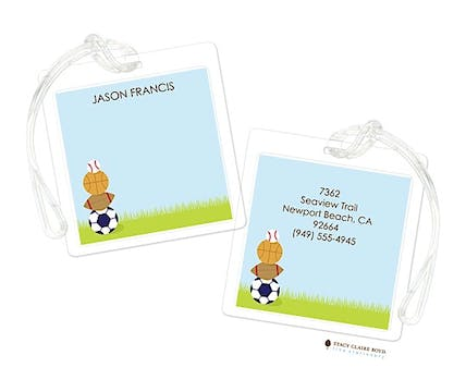 Havin A Ball Luggage Tag