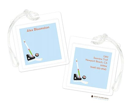 Hockey Star Luggage Tag