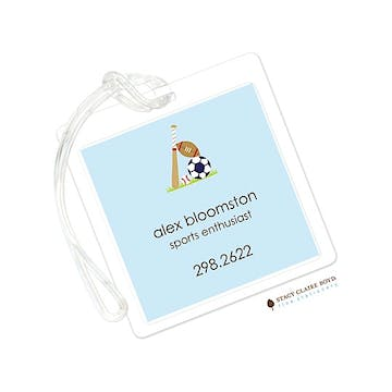 Little Sport Luggage Tag