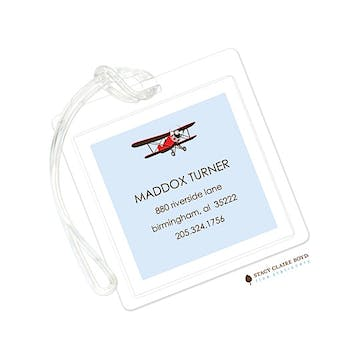 High Flyin Fun Luggage Tag