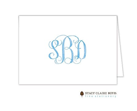 Clean & Simple Folded Note