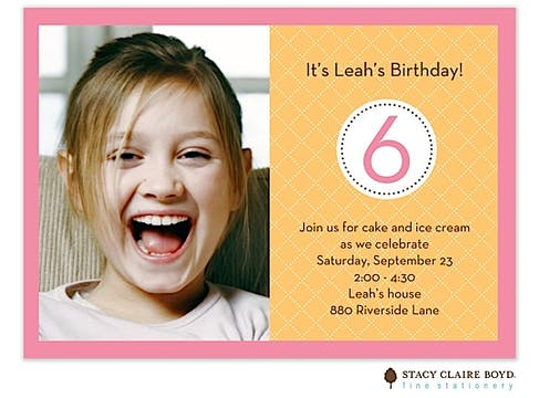 Citrus Delight Party Invitation