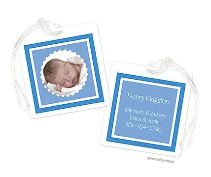 Little Me Ocean Digital Photo Luggage Tag
