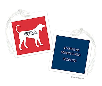 Best Friend Luggage Tag