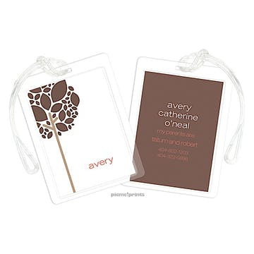 Shale Luggage Tag