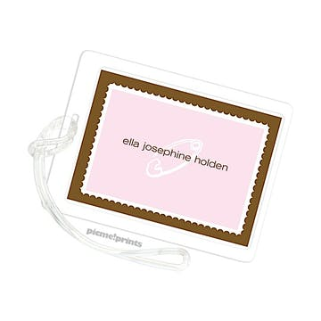 Baby Pink Luggage Tag