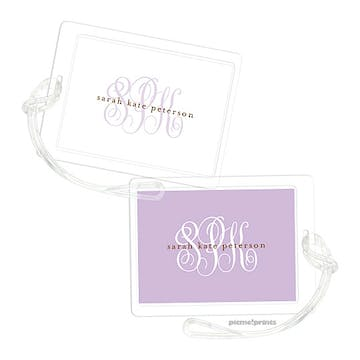 White Grape Luggage Tag