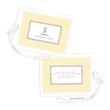 Lovely Butter Luggage Tag