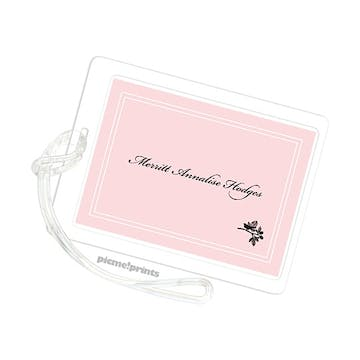 Little Robin Ballet Luggage Tag