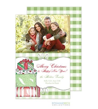 Christmas Morning Flat Photo Card